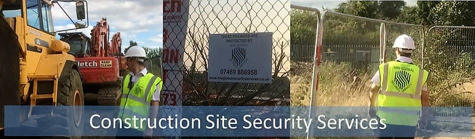 Construction site security Suffolk