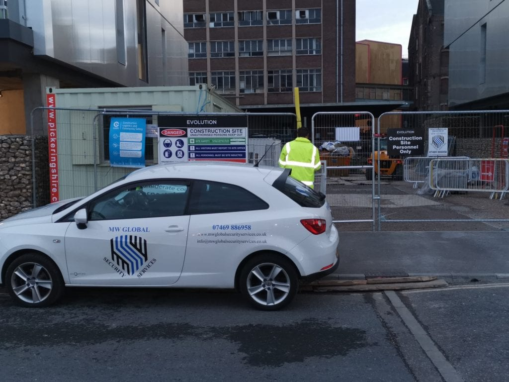construction site security services Cambridgeshire