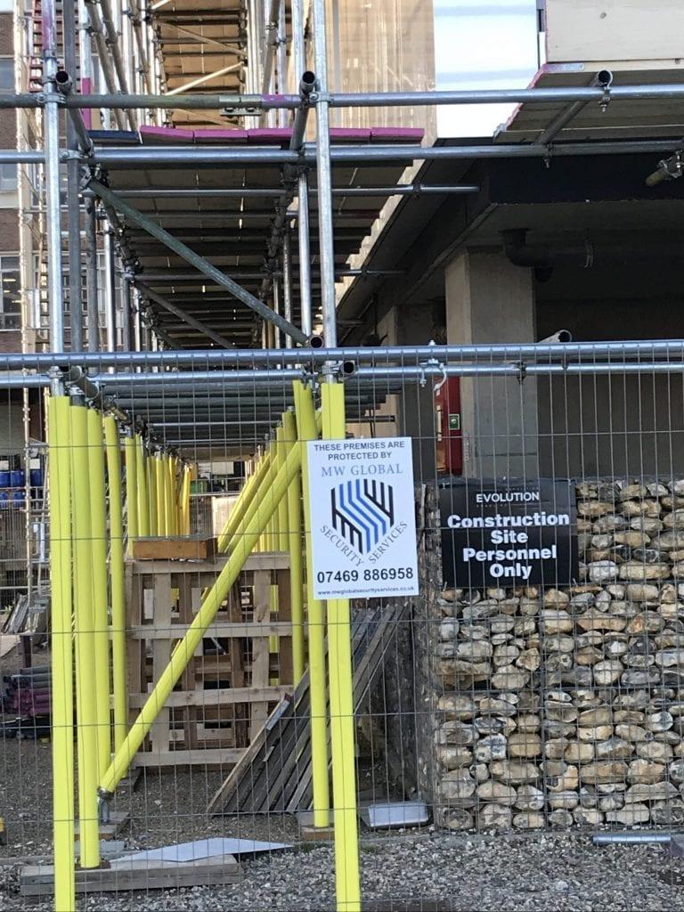 construction site security cambridge