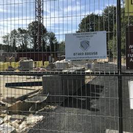 construction site security ipswich